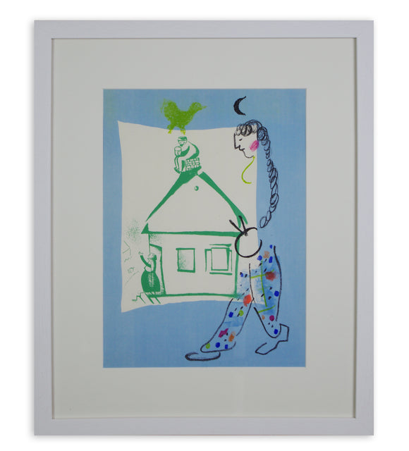 Marc Chagall - The House in my Village (Framed)