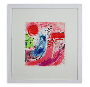 Marc Chagall - Motherhood (Maternity) and Centaur (Framed)