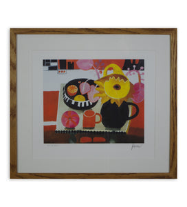 Mary Fedden - The Orange Mug (Framed)