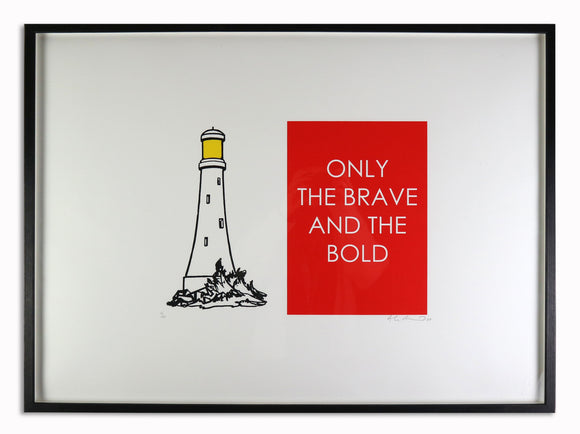Adam Bridgland - Only The Bold and The Brave (Framed)