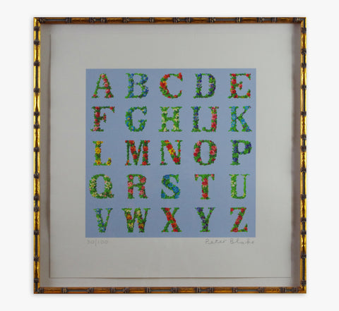 Peter Blake - Appropriated Alphabet 8 (Framed)