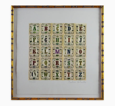 Peter Blake - Appropriated Alphabets 11 (Framed)