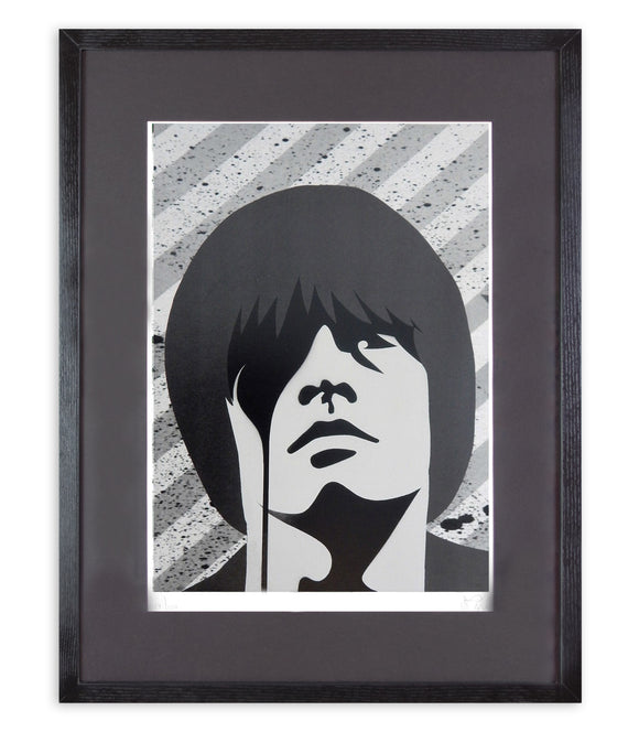Pure Evil - Brian Jones (Framed)