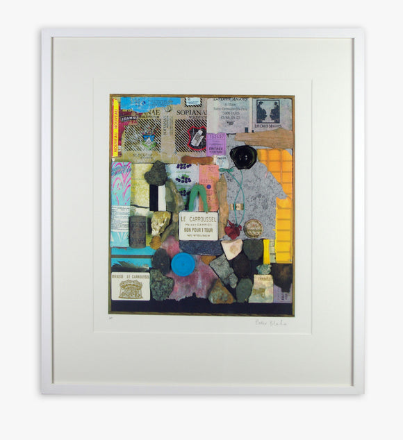 Peter Blake - A Walk in The Tuileries Gardens (Framed)