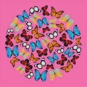 Terry Pastor - Butterfly Ball (Pink)
