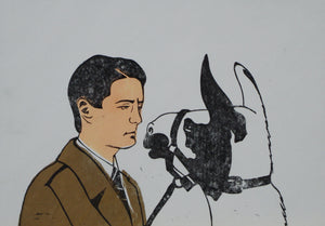 RattyCatCat - Twin Peaks Agent Cooper and Llama