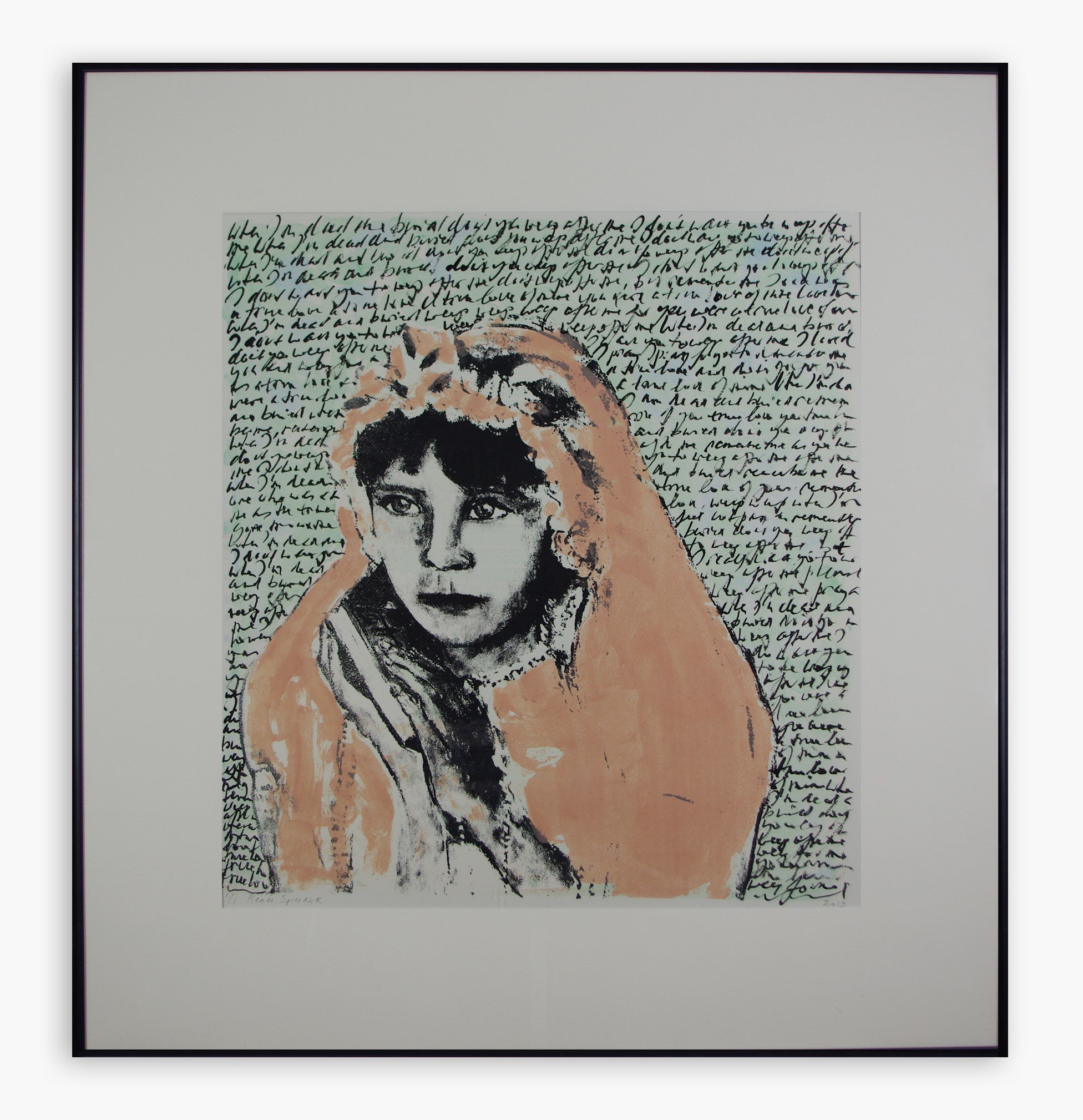 Renee Spierdijk - Don't Weep After Me (Girl With Bible)