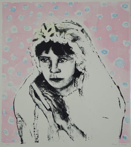 Renee Spierdijk - Girl with Bible (pink)