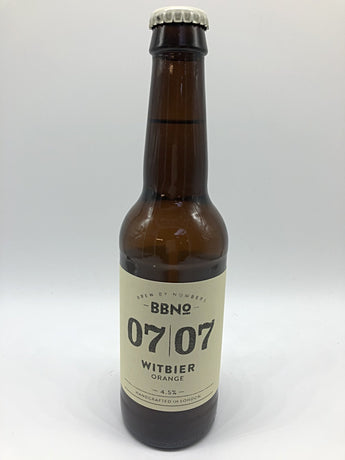 BBNo - 07|07 Orange Witbier - 5.4%