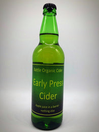 Battle Organic Cider - Early Press - 3.9%