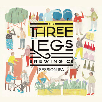 The Three Legs - Session IPA - 4.5%