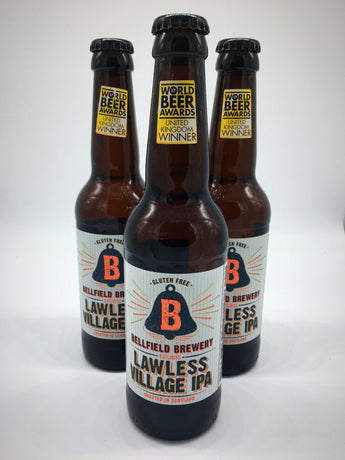 Bellfield Brewery - Lawless Village IPA - 4.5% (Gluten Free)