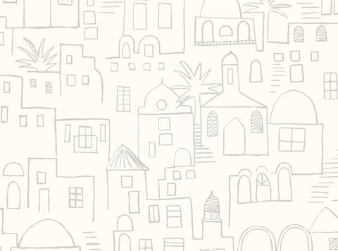 Teeny Santorini Wallcovering