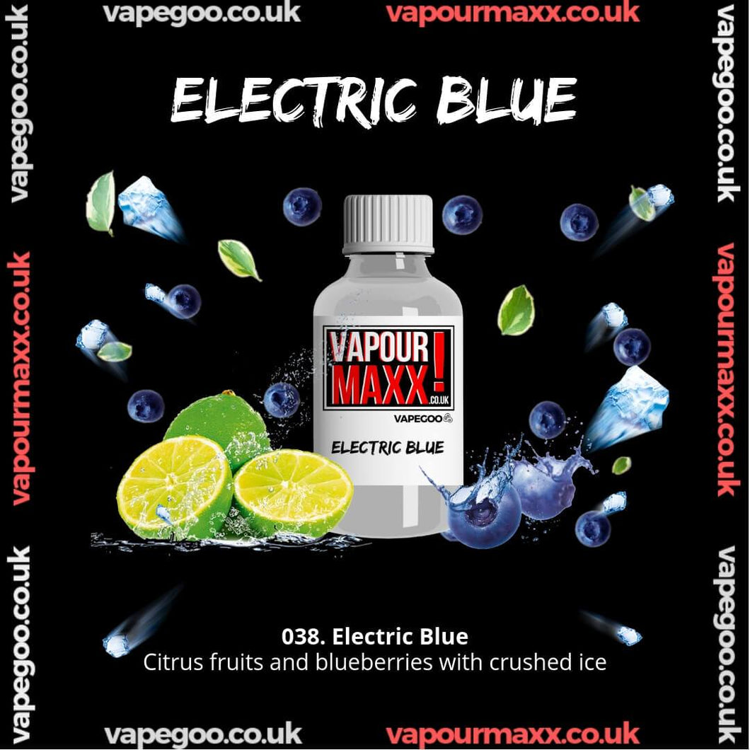 ELECTRIC BLUE Vape Eliquid Vapegoo Flavour