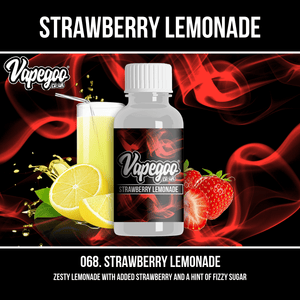 Strawberry Lemonade | Vape Eliquid Vapegoo Flavour | Vape Juice E Liquid