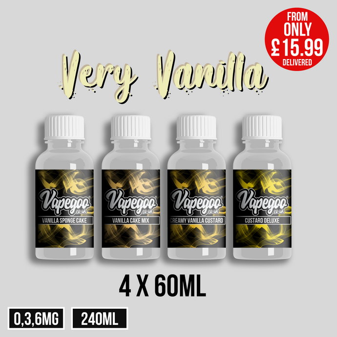 Very Vanilla - Limited Availability