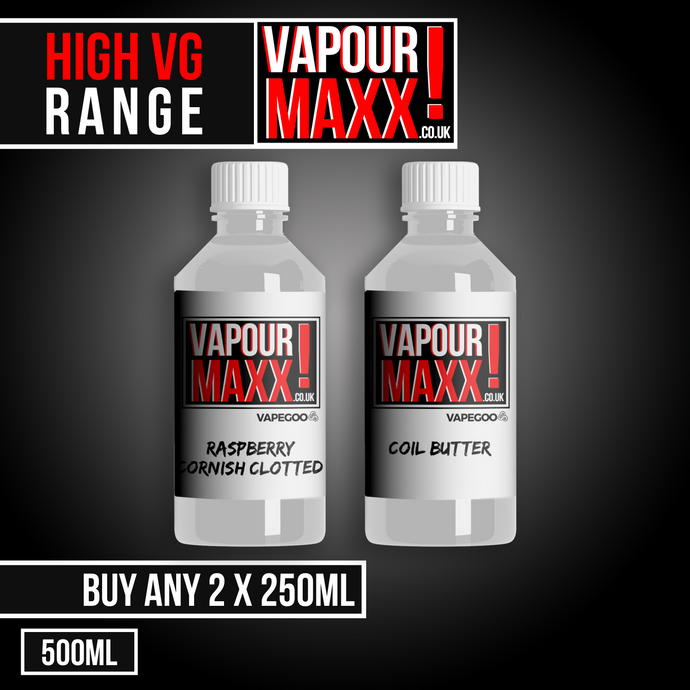 Vapourmaxx Double Bubble - 250ml E Liquid