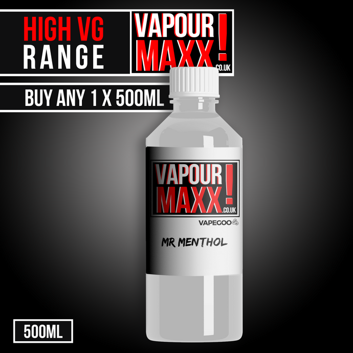 Vapourmaxx Supersize - 500ml E Liquid