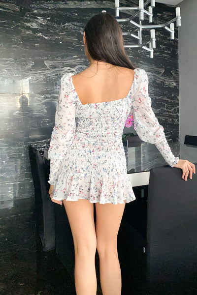 Halily Floral Long Sleeve Dress
