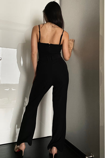Allison Luxe Jumpsuit - Black