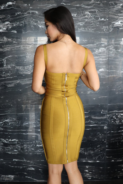 Friday Vibes Premium Bandage Dress