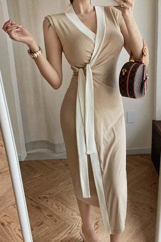 Lyra Maxi Wrap Dress