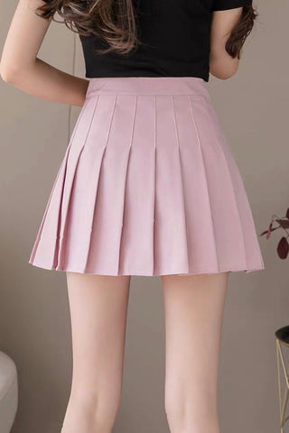 Carefree Mini Skirt - Blush