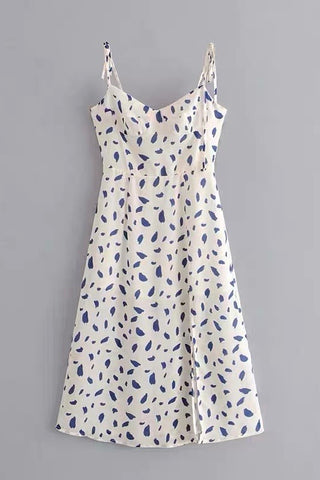 Dalmation Ribbed Dress