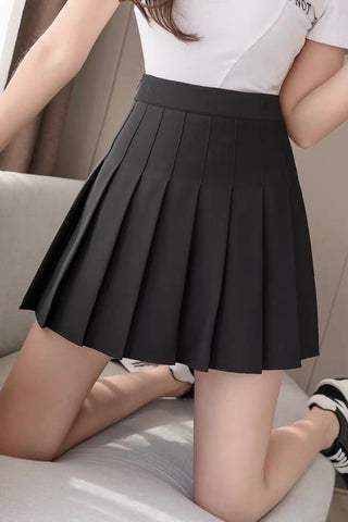 Carefree Mini Skirt - Black