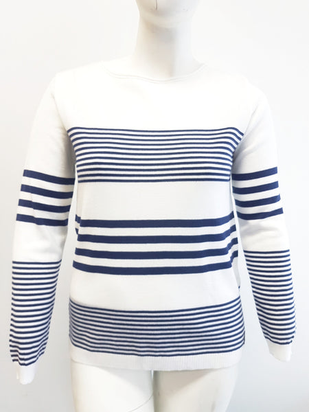 Agel Stripe Sweater