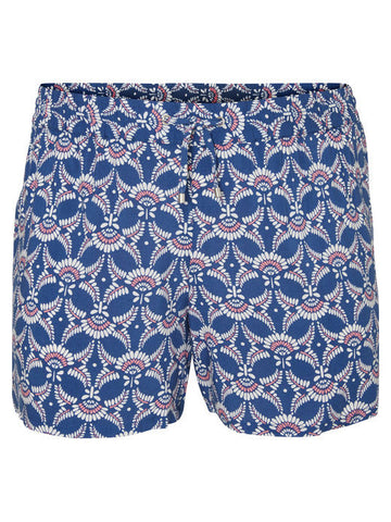 JUNAROSE Printed Shorts in Blue
