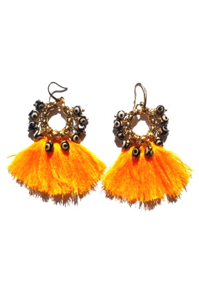 Very Valero Tassel Earrings - Golden