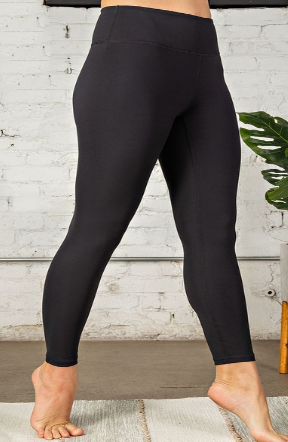 Buttery Soft Legging in Solid Black