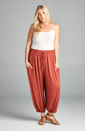 Lounge Pant in Crimson