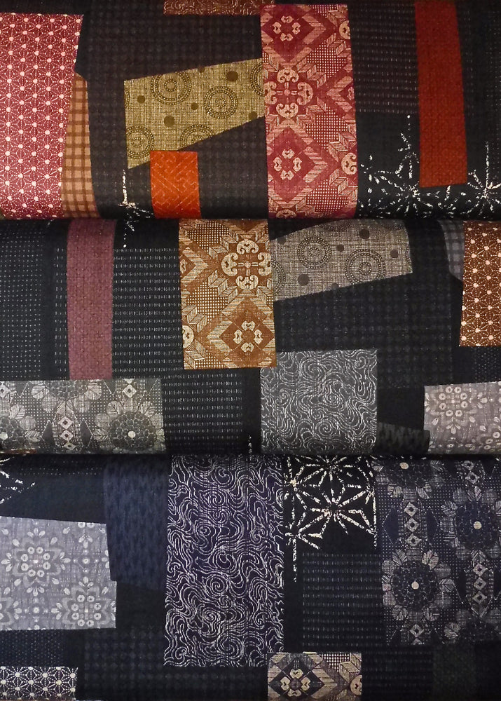 Japanese And African Cotton Quilting Fabrics From Kallisti
