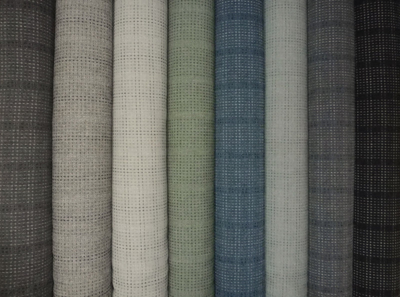 Japanese and African cotton quilting fabrics from Kallisti Quilts