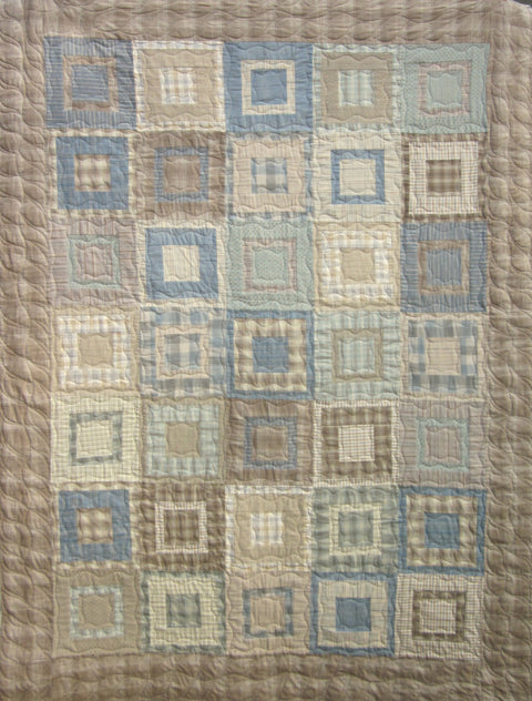Quilt for Sale - Square Pegs