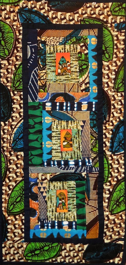 Quilt for Sale - Ugandan Batik Wall Quilt