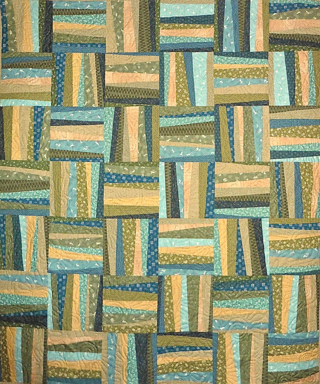 Sold Quilt - A Bit Askew