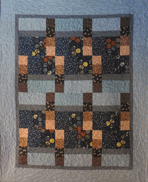 Quilt for Sale - Rectangles and Squares