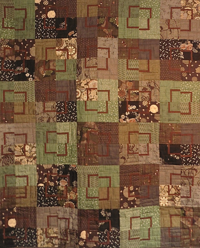 Quilt for Sale - Mod Quads