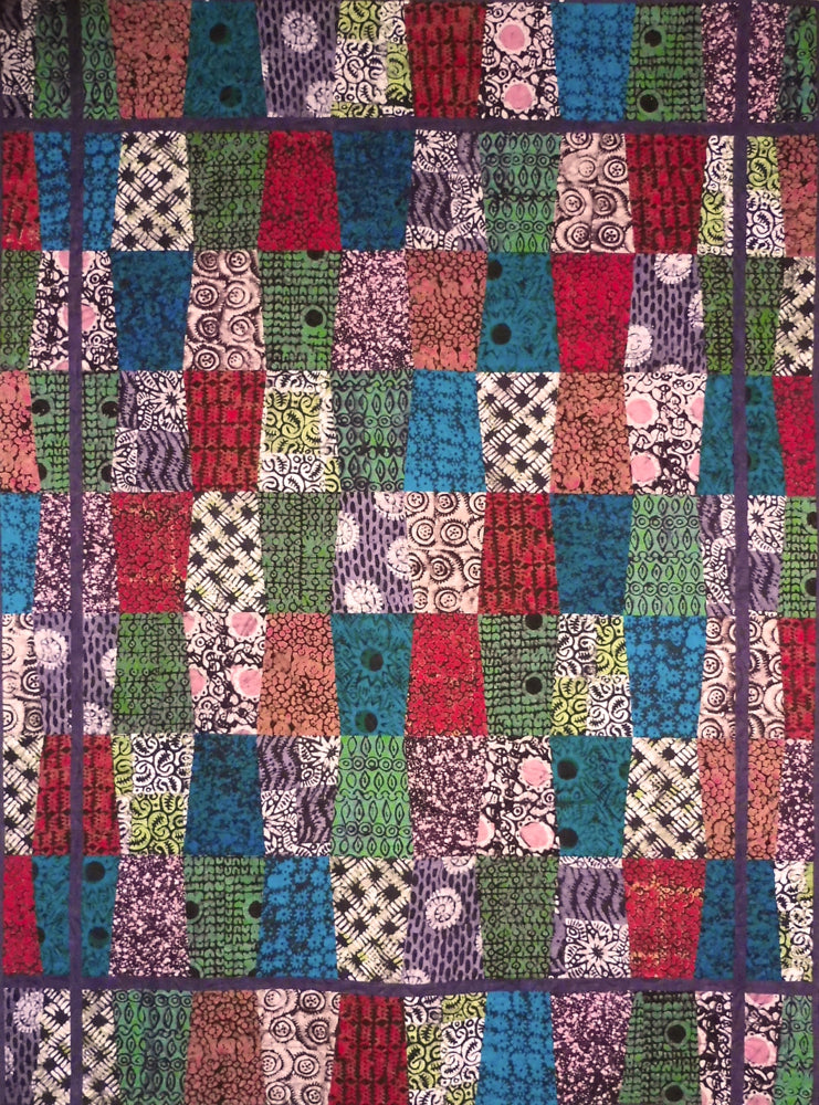 Quilt for Sale - Tanzanian Trapezoids