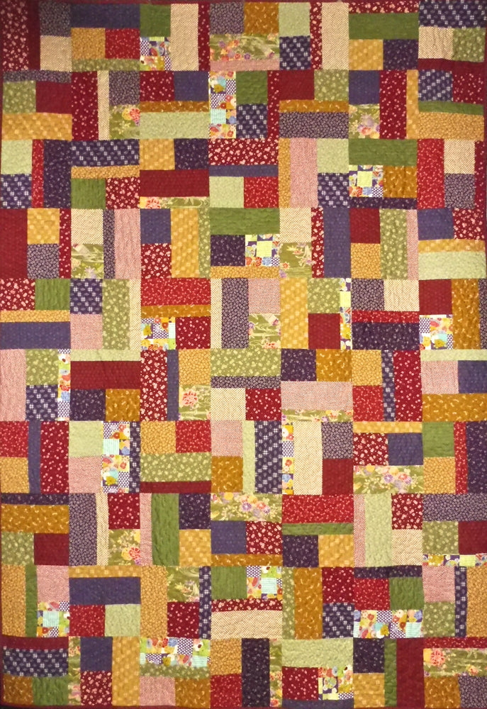 Quilt for Sale - Bits and Pieces