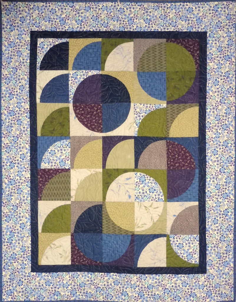 Quilt for Sale - Curves of Desire