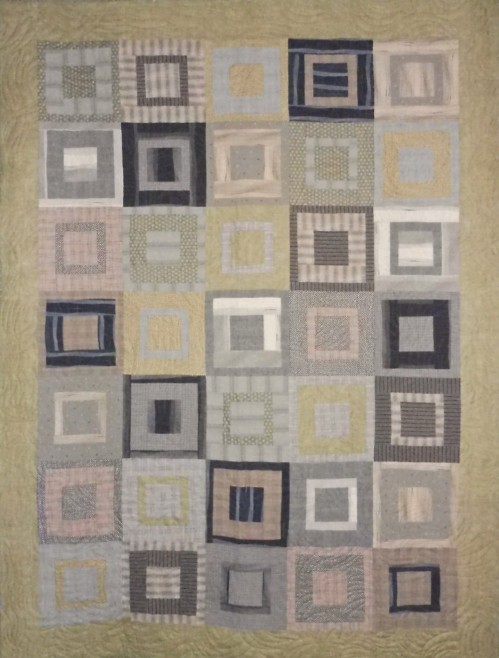 Quilt for Sale - Square Pegs throw