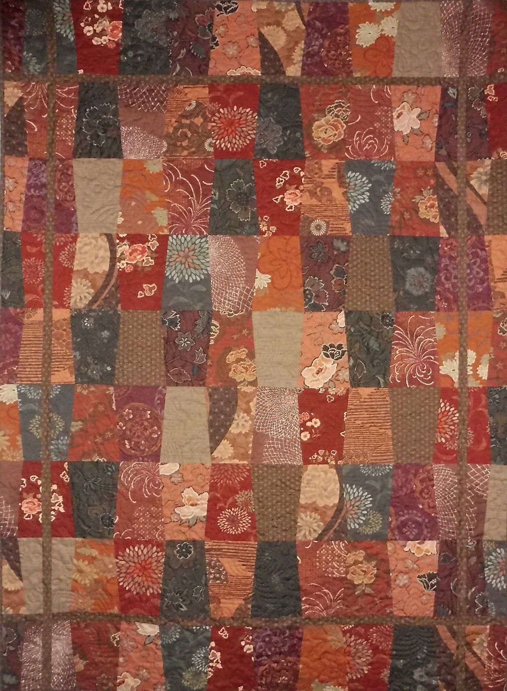 Quilt for Sale - Trapezoids