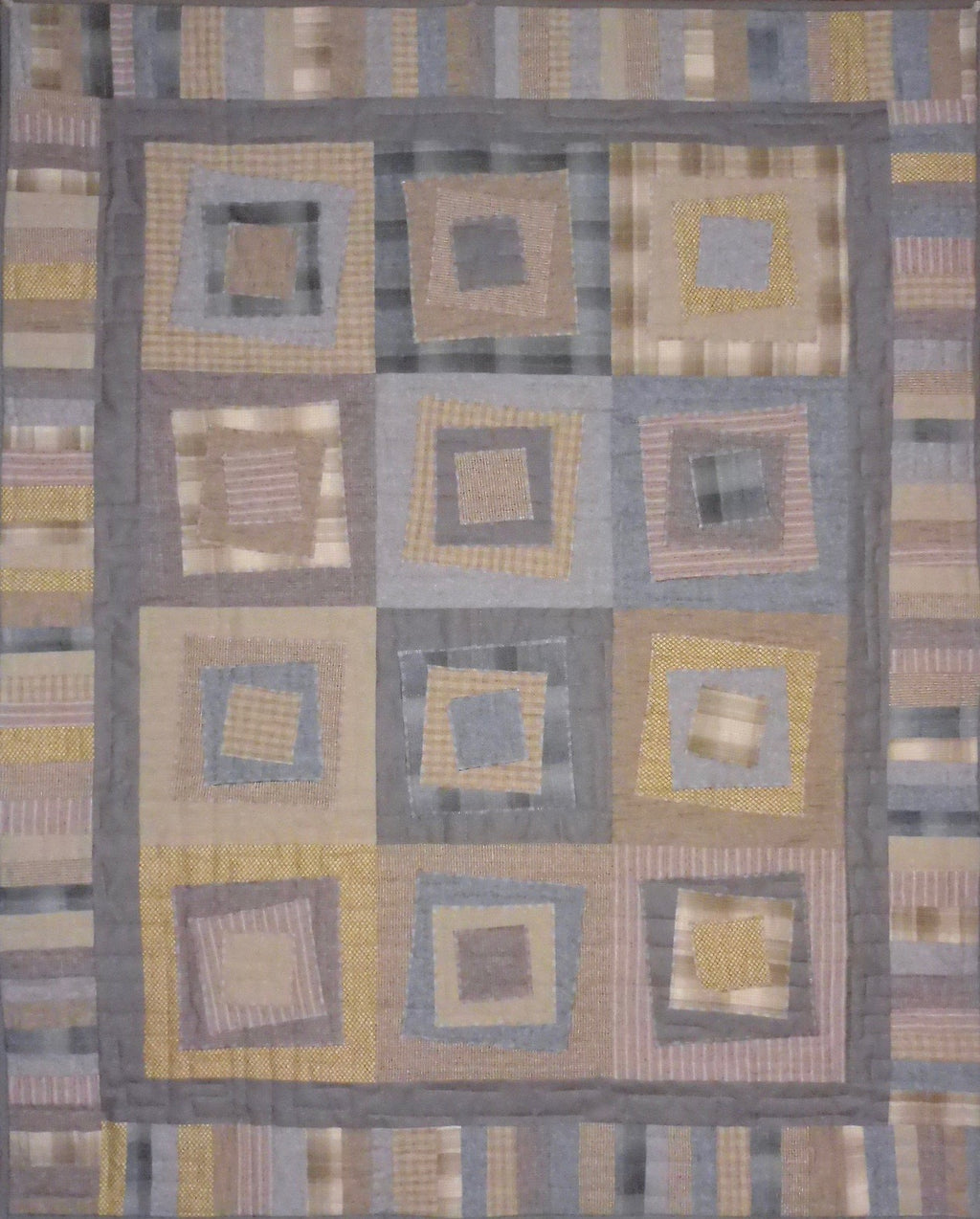 Quilt Kit - Tilt-a-Square throw