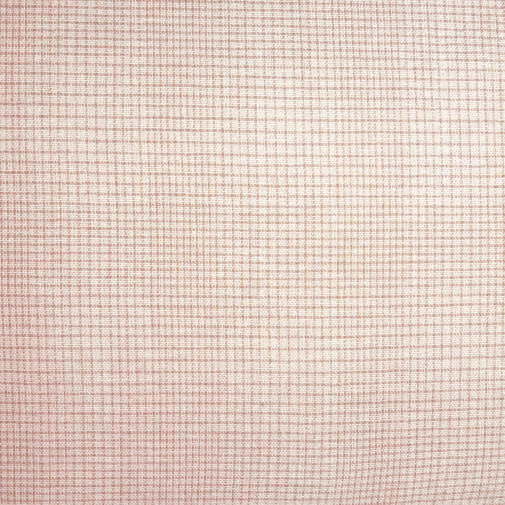 Japanese Yarn Dye - Pink Tiny Uneven Grid