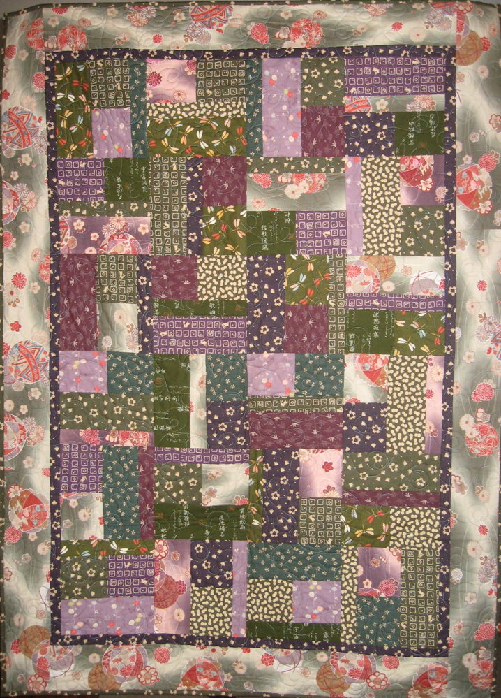 Sold Quilt - Bits and Pieces