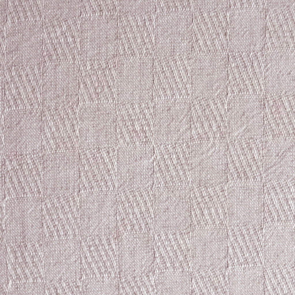 Japanese Yarn Dye - Pale Pink Checkerboard